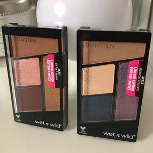 🆕 Set of 2 Wet N Wild Color Icon Eyeshadow Quads